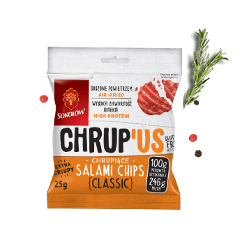 Chrup 'us salami chips classic